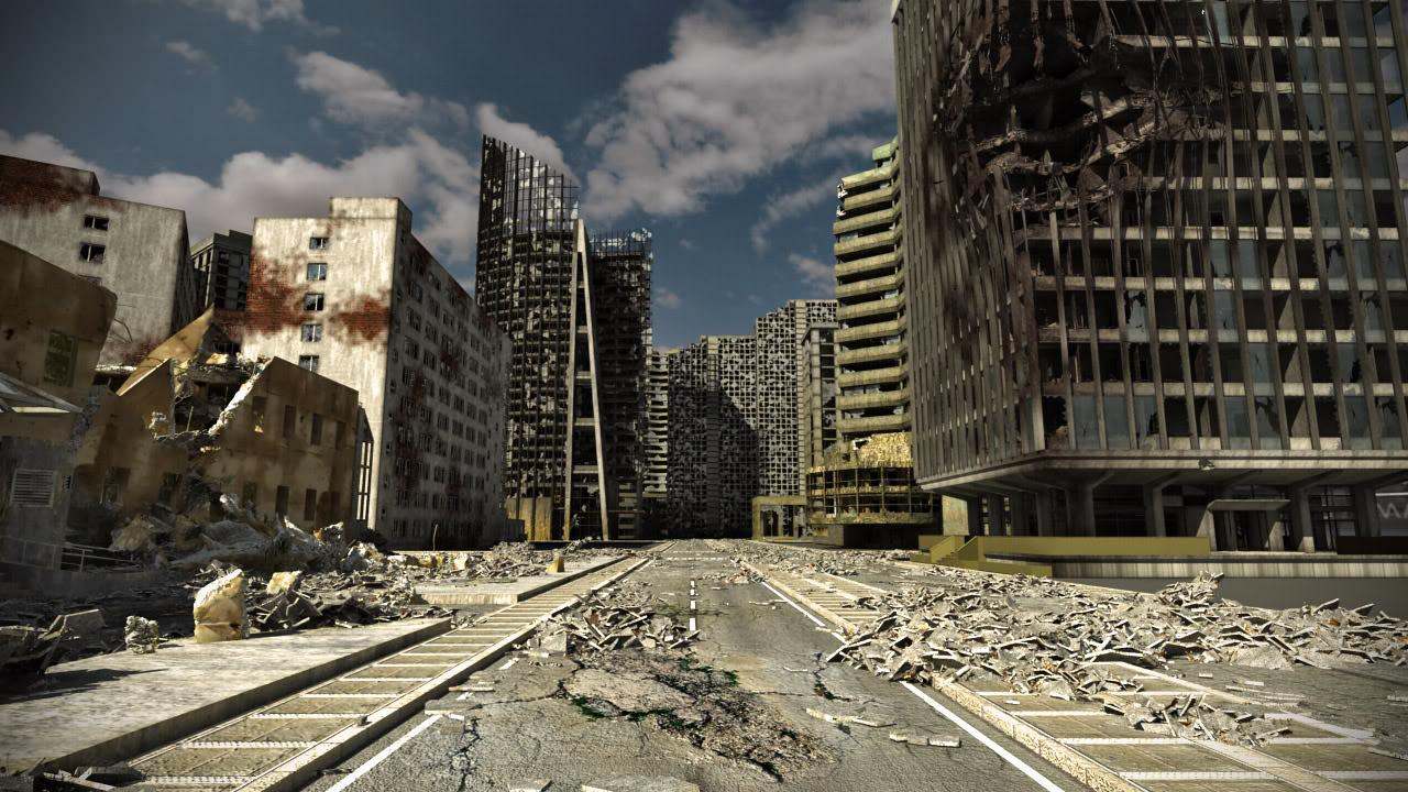 ruined city street www pixshark com images galleries best clipart sites for halloween top clipart sites